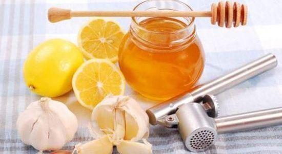 Мед, чеснок и лимоны
