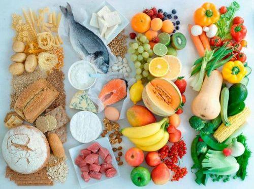 Разнообразная пища