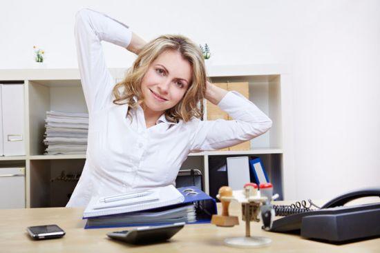 Зарядка для шеи при сидячей работе