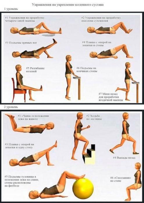Гимнастика для колен