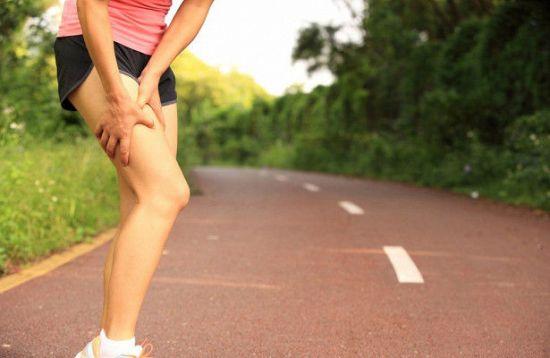 Боль в бедре после бега