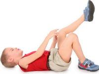 У ребенка болит коленный сустав