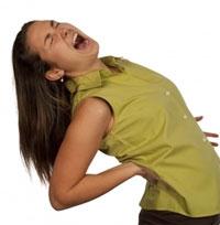 Сильная тупая боль в спине справа