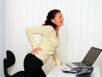 Боль в области копчика у женщины