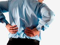 Болит спина у спортсмена